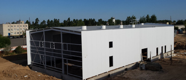 Heating, Electrical and Cooling Station, 2.3MW (e),13MW (heat), 0.7MW (cool)