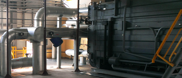 Heating and Electric Station with Steam Turbine Plant, 1.5MWt